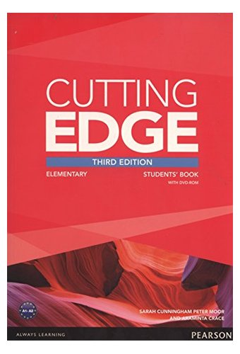 Cutting Edge: Elementary New Edition Students' Book, DVD Pack. Учебник с диском