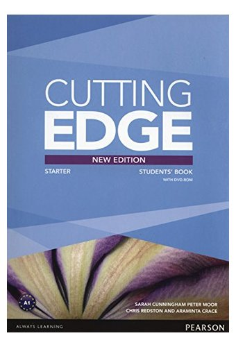 Cutting Edge: Starter New Edition Students' Book, DVD Pack. Учебник с диском