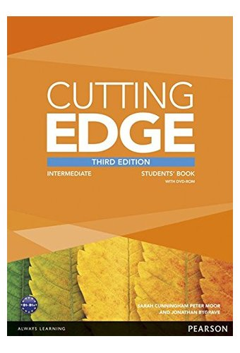 Cutting Edge: Intermediat New Edition Students' Book, DVD Pack. Учебник с диском