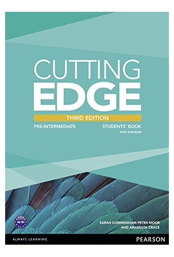 Cutting Edge:Pre Intermediat New Edition Students' Book, DVD Pack Учебник с диском.3 -е изд.