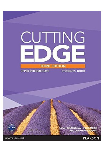 Cutting Edge: Upper  IntermediatNew Edition Students' Book, DVD Pack Учебник с диском