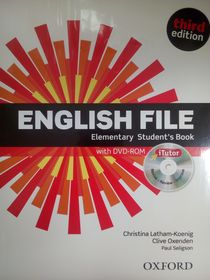 English File: Elementary: Student's Book With ITutor: The Best Way To Get Your Students Talking.Инглиш Файл Элементари. Учебник с диском. 3-е издание