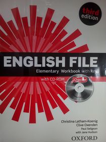 English File: Elementary: Workbook With IChecker With Key. Рабочая тетрадь  с диском
