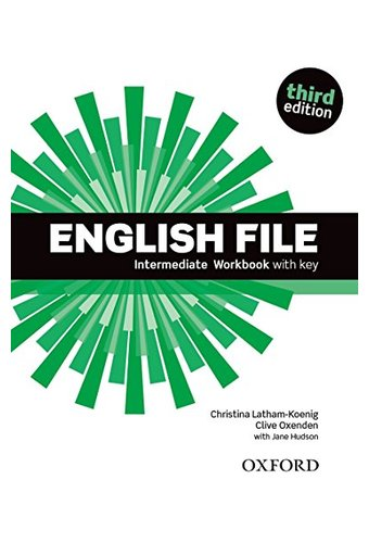 English File:Intermediate: Workbook With Key And ICheckey. Рабочая тетрадь  с диском. 3-е издание. /> 					       </div> 					       <div class=