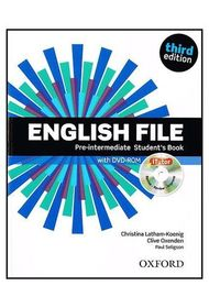 English File: Pre-Intermediate: Student's Book With ITutor: The Best Way To Get Your Students Talking.Инглиш Файл пре-интермедиат. Учебник с диском. 3-е издание