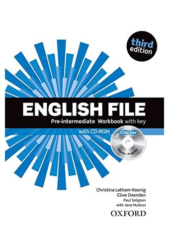 English File: Pre-Intermediate: Workbook With Key And ICheckey. Рабочая тетрадь  с диском