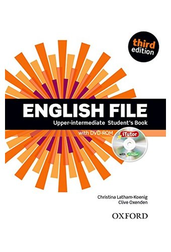 English File:UpperIntermediate: Student's Book With ITutor: The Best Way To Get Your Students Talking.Инглиш Файл  аппер интермедиат. Учебник с диском