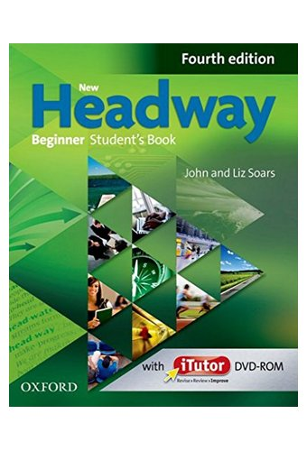 New Headway: Beginner A1: Student's Book And ITutor Pack.Хэдвей бегинер.4-изд. Учебник с диском