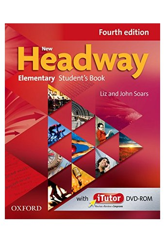 New Headway: Elementary A1- A2: Student's Book And ITutor Pack.Хедвей элементари.4-изд. Учебник с диском