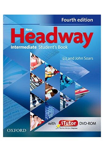 New Headway:Intermediate  B1: Student's Book And ITutor Pack.Хедвей интермедиат.4-изд. Учебник с диском