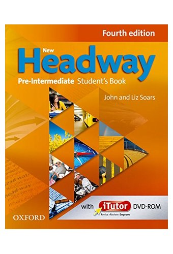 New Headway: Pre-Intermediate A2 - B1: Student's Book And ITutor Pack.Хедвей пре-интермедиат.4-изд. Учебник с диском