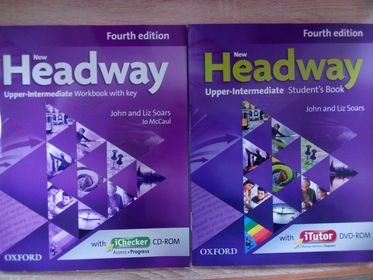 New Headway:  Upper Intermediate  B2:Комплект.Хедвей аппер  интермедиат.4-изд.