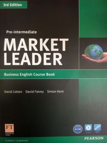 Market Leader 3rd Edition Pre-Intermediate Coursebook+DVD-ROM
